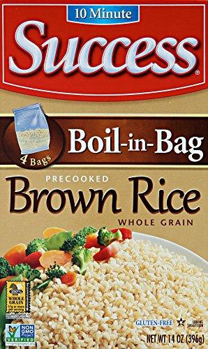 Success Boil In Bag Brown Rice, 14 Oz