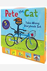 Pete the Cat Take-Along Storybook Set: 5-Book 8x8 Set Paperback