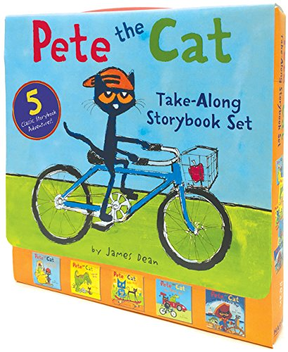 Pete the Cat Take-Along Storybook Set: 5-Book 8x8 Set ()