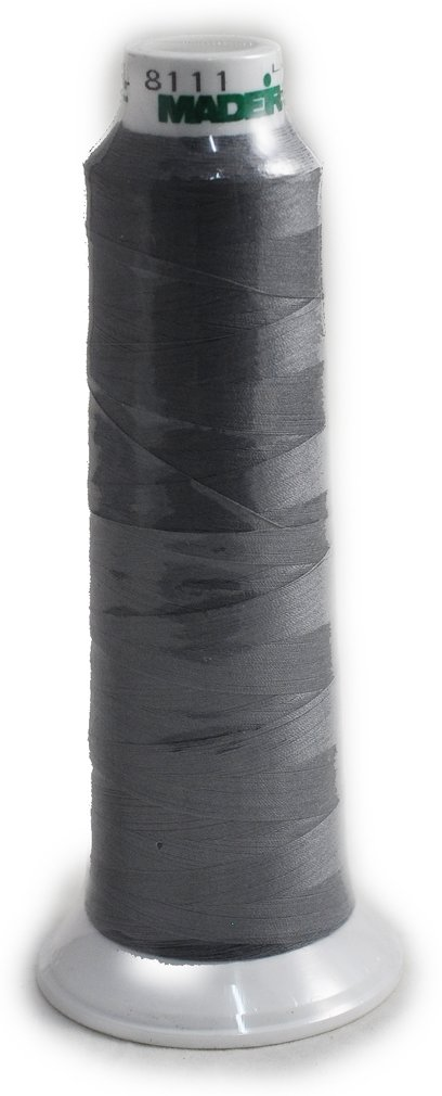 Madeira Poly Steel Grey 2000YD Serger Thread 91288111