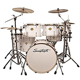 "Sawtooth Command Series 7-Piece Drum Shell Pack with 22"" Bass Drum 5"