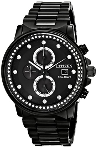 Citizen Eco-Drive Women's FB3005-55E Nighthawk Analog Display Black Watch