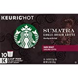 Starbucks Sumatra, K-Cup for Keurig Brewers, 60 Count
