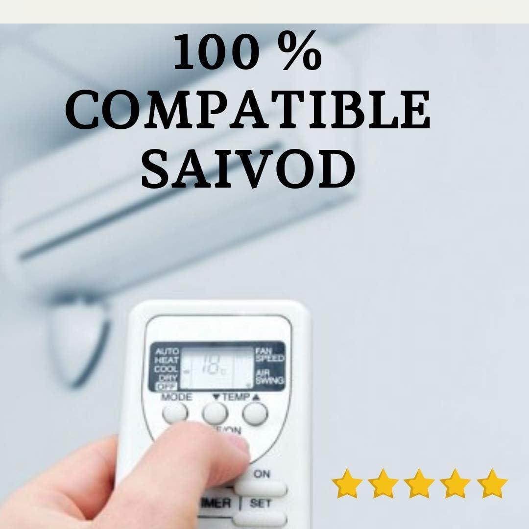 SAIVOD - Mando Aire Acondicionado SAIVOD: Amazon.es: Electrónica