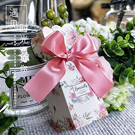 Amazon.com: Xiaogongju - Caja de regalo para boda y caramelo ...