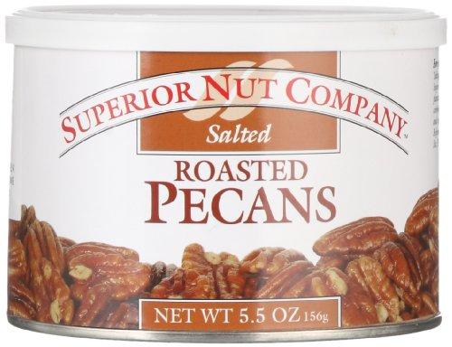 Superior Nut Roasted Salted Pecans, 5.5 oz Superior Nut Company by Superior Nut Company
