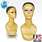 18'' Female Life size Mannequin Head for Wigs, Hats, Sunglasses Jewelry Display A3