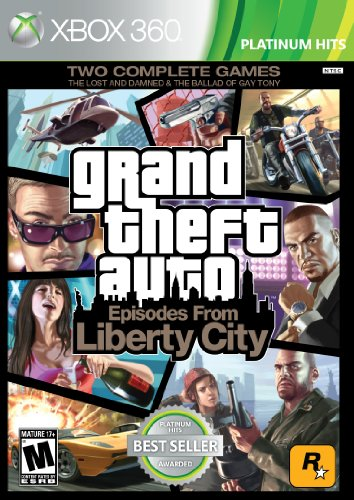 Grand Theft Auto Iv Xbox 360 Game - Grand Theft Auto: Episodes from Liberty City