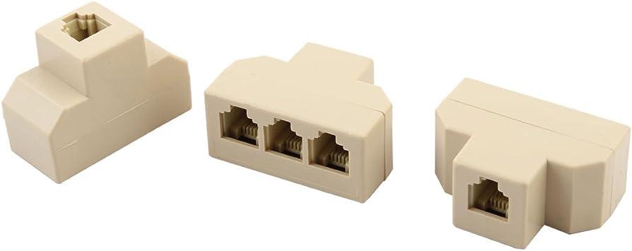 Lindy 3m RJ-11//BT c/âble de t/él/éphone Blanc 3 m, RJ-11, BT, Blanc, Male Connector//Male Connector Cables de t/él/éphone