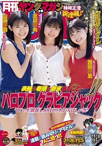 月刊ヤングマガジン 最新号 表紙画像