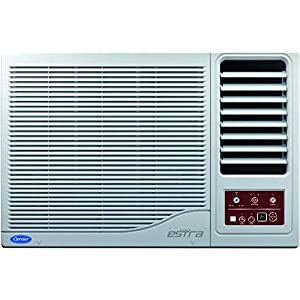 Carrier 1 Ton 3 Star Window AC (Copper 12K Estra R22 CAW12ES3N8F1 White)