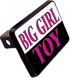 BIG GIRL TOY Trailer Hitch Cover Plug Funny ATV Dirt Bike Novelty