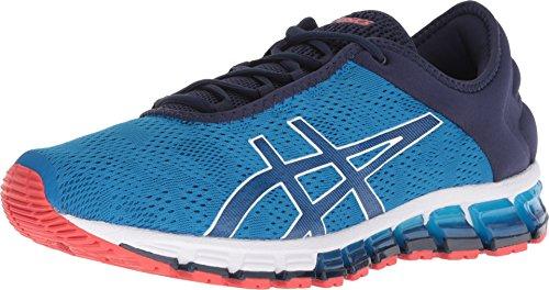 ASICS 1021A029 Men's Gel-Quantum 180 3 Running Shoe, Race Blue/Peacoat - 9.5