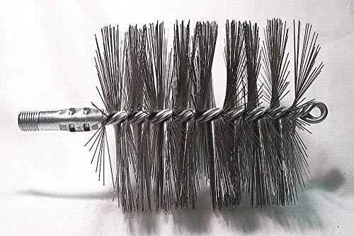Flue Brush, Dia 4-1/2, 1/4 MNPT, 7-1/2 In L by Tough Guy