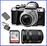 Olympus OM-D E-M10 Mark II Mirrorless Micro Four Thirds Digital Camera with 14-42mm II R Lens [Silver] & Olympus M.Zuiko Digital ED 40-150mm f/4.0-5.6 R Lens [Black] Review