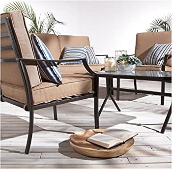 Strathwood 64185 4-Piece All-Weather Furniture Set