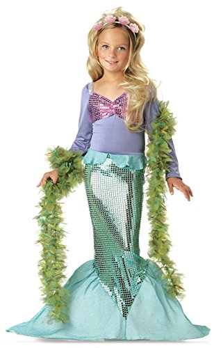Little Mermaid Child Costume - Medium