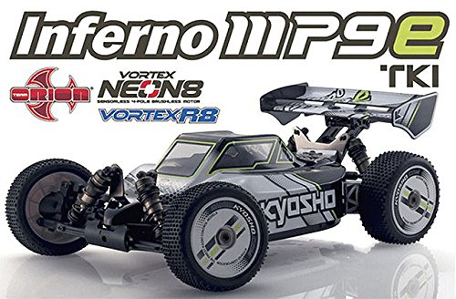 8 Scale Nitro Buggy (Kyosho Inferno MP9e TKI Ready Set RTR Brushless Electric Racing Buggy (1:8 Scale))