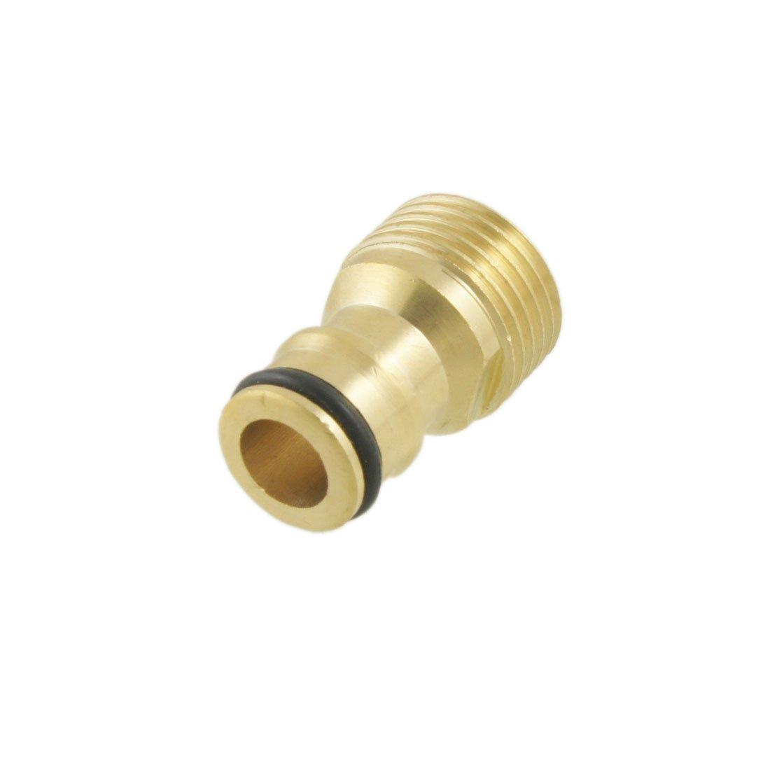 1/5, 1cm Diamètre robinet fileté mâle connecteur adaptateur tuyau en laiton 1cm Diamètre robinet fileté mâle connecteur adaptateur tuyau en laiton Sourcingmap a12031900ux0053