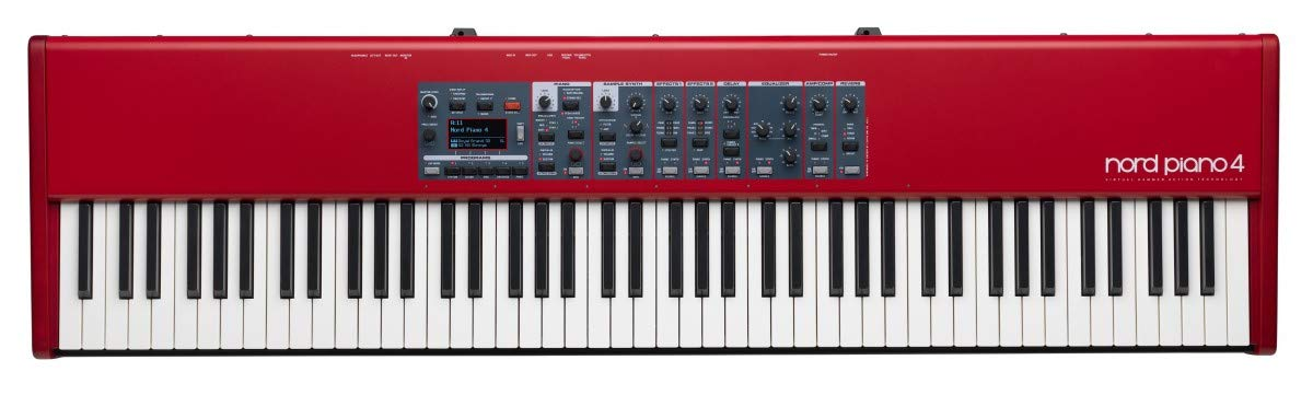 Nord Piano 4 88 Stage Piano with 512MB Sample Library Memory  best keyboard for beginners