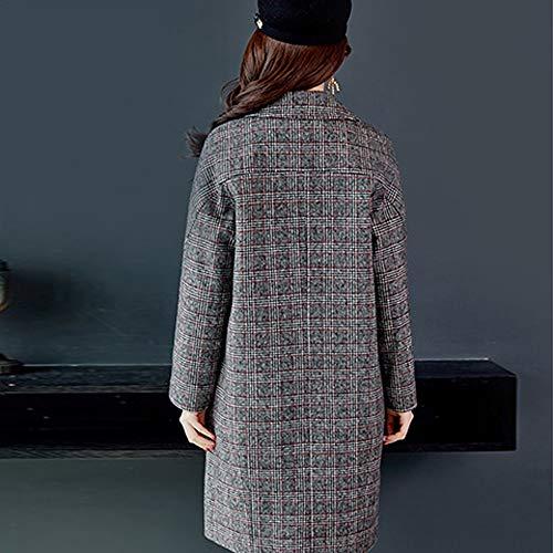 Outwear Mujer Sudadera Capucha Chaquetas Talla Ashop Larga Gris Con Ropa De Abrigo Mujer En Invierno Oferta B7nPSCxwqn