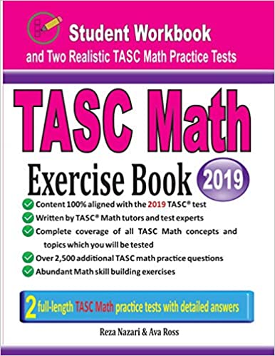 Amazon com: TASC Math Exercise Book: Student Workbook and Two