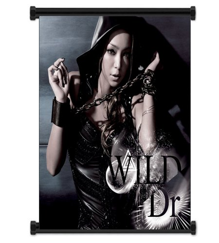 Namie Amuro Artist Fabric Wall Scroll Poster (16x16) Inches