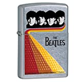 Zippo The Beatles Shine Street Chrome Pocket Lighter