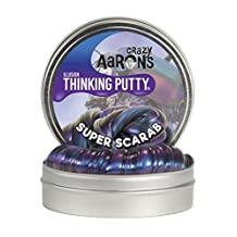 Crazy Aaron's Enterprises Super Scarab Super Illusions Thinking Putty