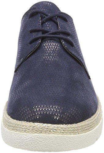 Zapatos 23659 de Navy Azul para Oxford Oliver s Mujer Cordones WZnAaxU