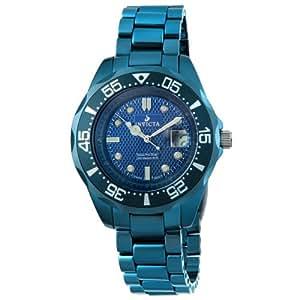 Invicta Men's 4693 Blue Ceramic Swiss Quartz Watch with Blue Dial