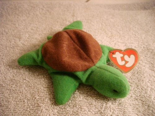 TY McDonald's Teenie Beanie - #6 SPEEDY the Turtle (1997)