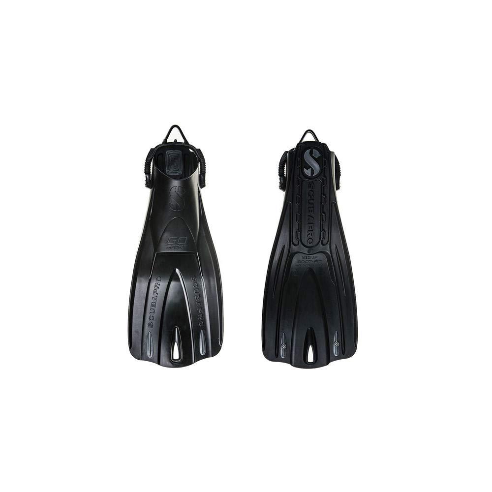 Scubapro GO Sport Fins (Small, Black)