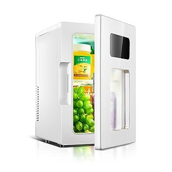 JGWJJ Mini refrigerador portátil 10L Mini refrigerador 12V Coche ...