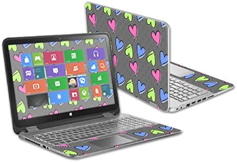 Girly Protective and Change Styles MightySkins Skin Compatible with HP Envy x360 15.6 and Unique Vinyl Decal wrap Cover Remove Durable Easy to Apply Made in The USA
