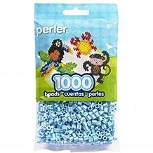 Perler Beads Bag, Sky Blue Stripe, 1000 Count