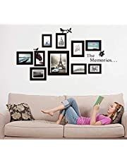 Fashion DIY Removable Art Memories Photo Frame Wall Stickers