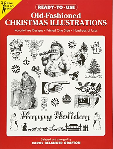 Old Fashioned Illustrations (Ready-to-Use Old-Fashioned Christmas Illustrations (Dover Clip Art Ready-to-Use))