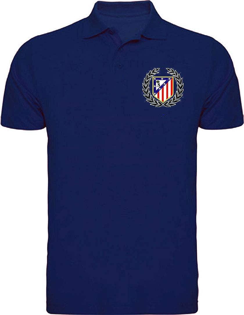 CamisetasATM1903 Polo Atlético de Madrid Escudo Corona del Atleti ...