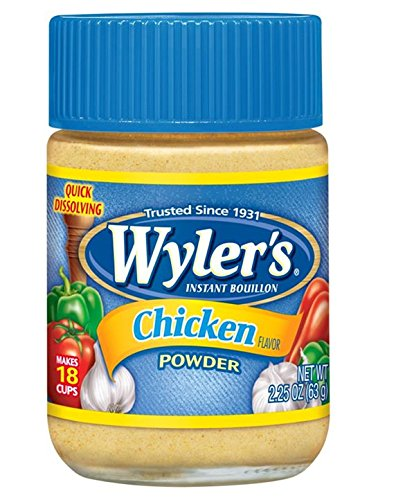 WYLER'S Instant Bouillon, Chicken Powder, 2.25 Ounce (Pac...