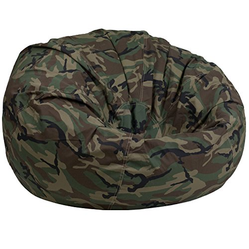 - Flash Furniture Oversized Camouflage Kids Bean Bag Chair