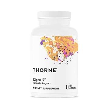 Amazon.com: Thorne investigación – dipan-9 – Pancreatin ...