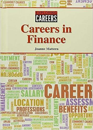 Careers In Finance Exploring Careers Mattern Joanne 9781601528100 Amazon Com Books