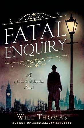 Fatal enquiry a barker llewelyn novel barker and llewelyn book 6 print list price 1799 fandeluxe Gallery