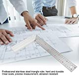 Right Angle Ruler Stainless Steel Carpenter