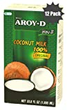 100% Coconut Milk - 33 Oz Packages (12-pack)