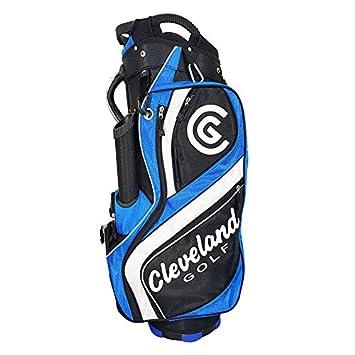 Cleveland C0089617 Bolsa de Carro de Golf, Hombre, Negro/Azul/Blanco ...