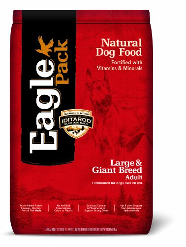 Eagle Pack Natural Pet Food, Large and Giant Breed Adult Formula for Dogs, 30-Pound Bag, My Pet Supplies