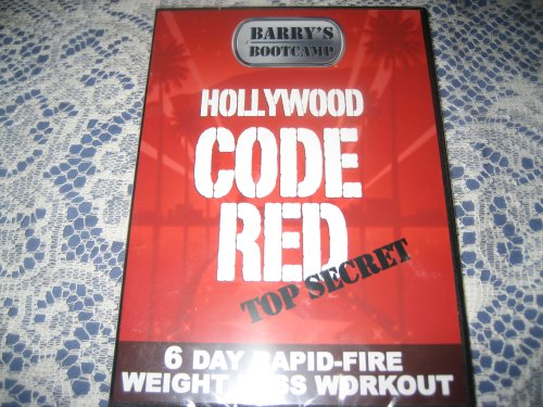 Barry S Bootcamp Hollywood Code Red 6 Day Rapid Fire Weight Loss