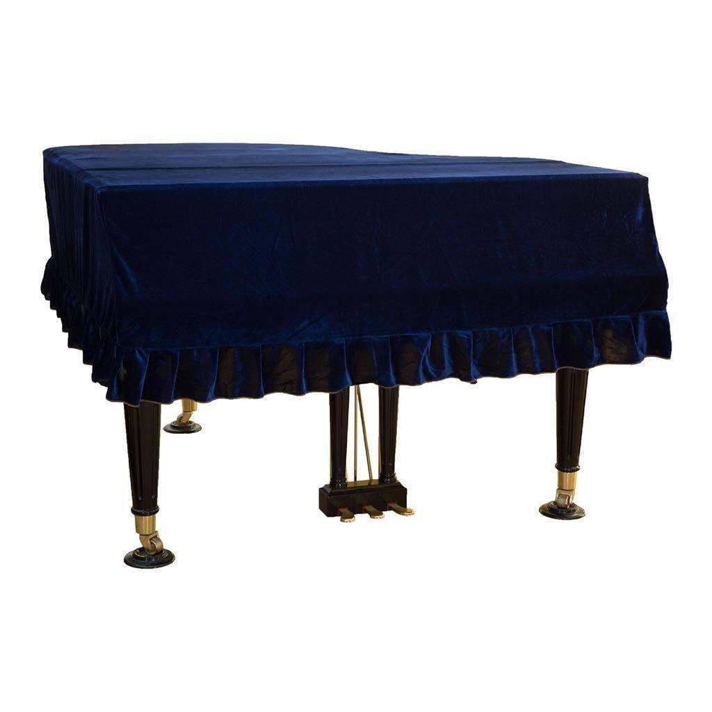 Color : Black, Size : 180cm Copertura Plissettata for Pianoforte Copertura Antipolvere Protettiva in Tessuto MXK Cover Universale for Pianoforte Decorazione Domestica in Velluto